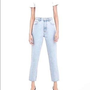 NWT ZARA JOIN LIFE CLASSIC MOM FIT ANKLE LENGTH